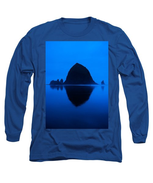 Cannon Beach Blue Long Sleeve T-Shirt