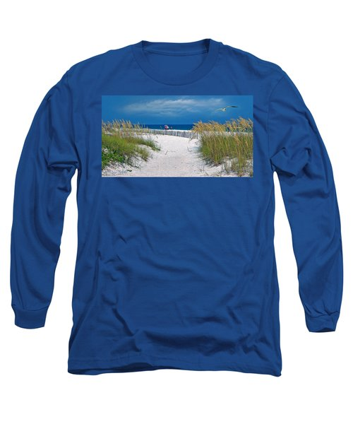 Carefree Days By The Sea Long Sleeve T-Shirt