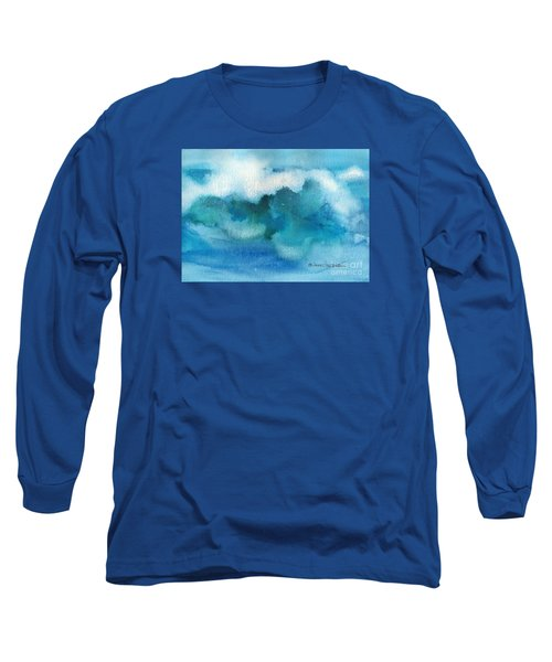 Long Sleeve T-Shirt featuring the painting Catch The Wave by Joan Hartenstein