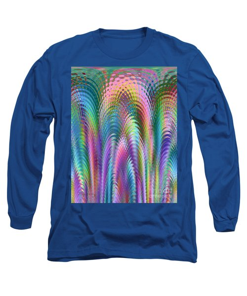 Long Sleeve T-Shirt featuring the digital art Cathedral by Mariarosa Rockefeller