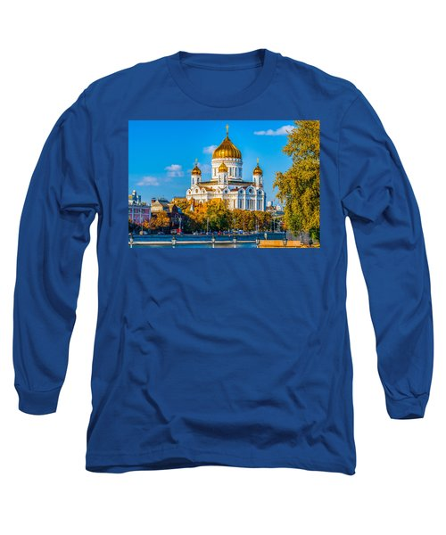 Cathedral Of Christ The Savior - 1 Long Sleeve T-Shirt