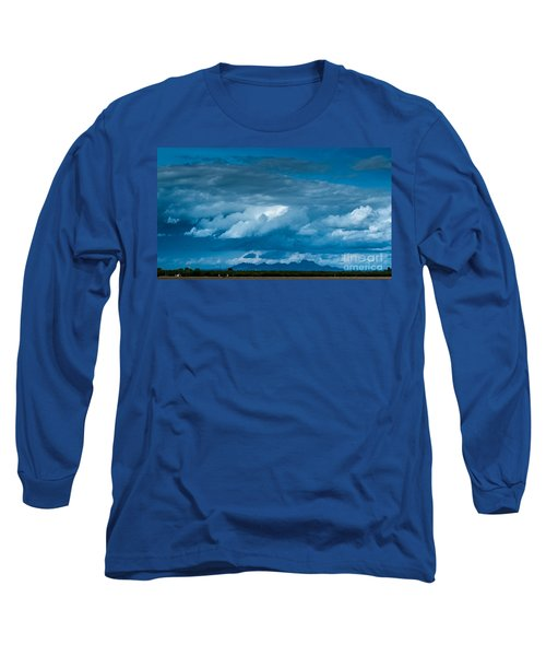 Central Valley Clouds Long Sleeve T-Shirt