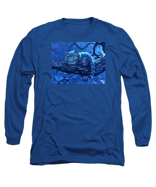 Cheshire Cat Long Sleeve T-Shirt by Tom Carlton