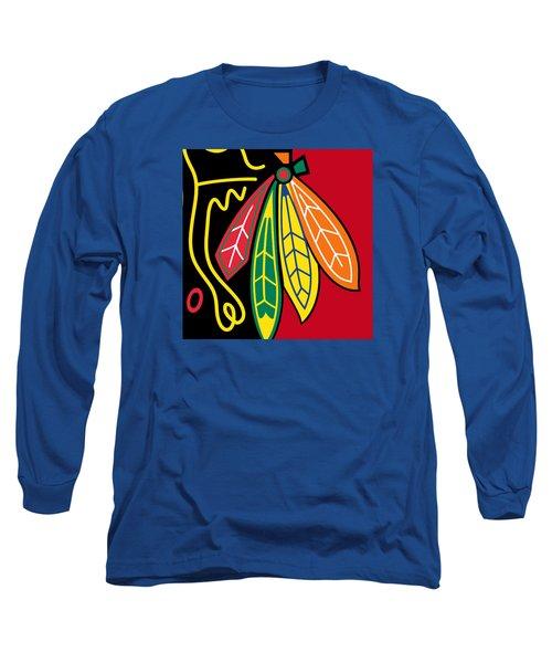 Chicago Blackhawks 2 Long Sleeve T-Shirt