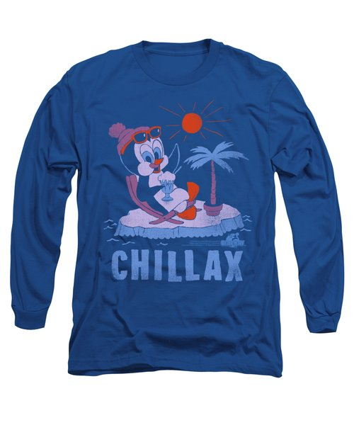 Chilly Willy - Chillax Long Sleeve T-Shirt by Brand A