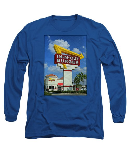 Classic Cali Burger 1.1 Long Sleeve T-Shirt by Stephen Stookey