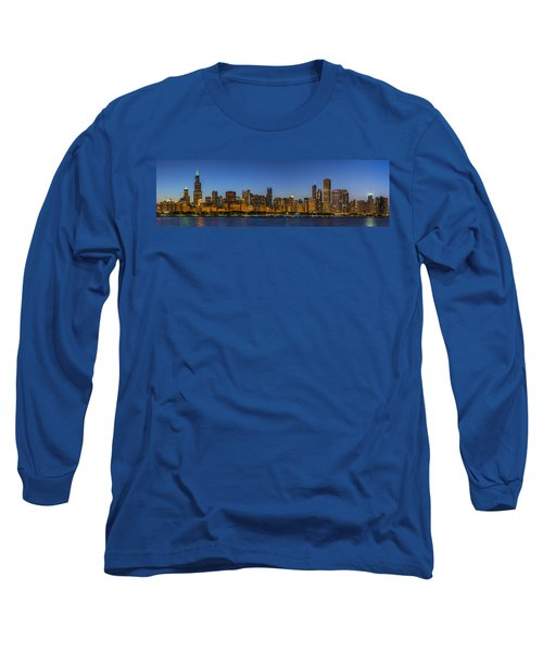 Long Sleeve T-Shirt featuring the photograph Clear Blue Sky by Sebastian Musial