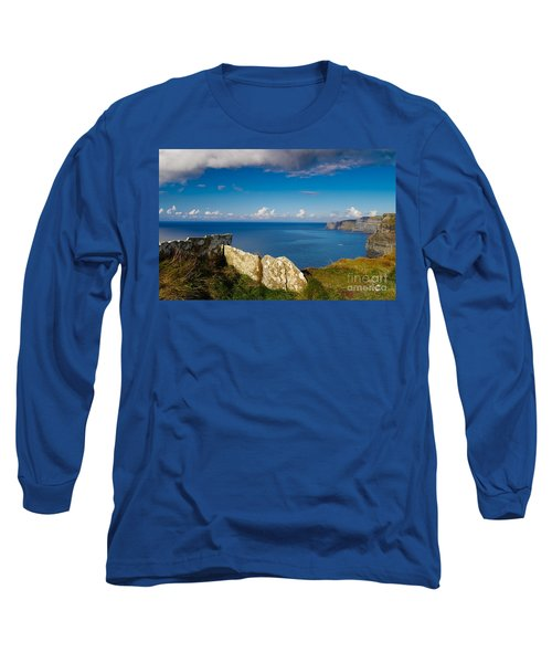 Long Sleeve T-Shirt featuring the photograph Cliffs Of Moher by Juergen Klust