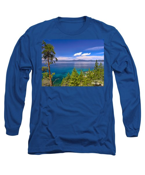 Clouds And Silence - Lake Tahoe Long Sleeve T-Shirt