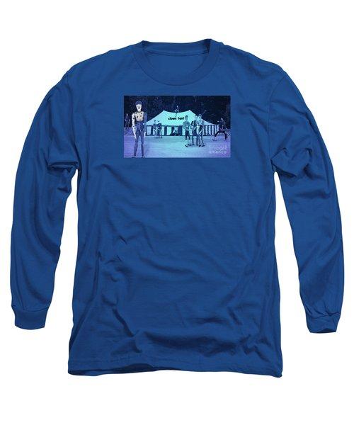 Clown Tent Long Sleeve T-Shirt by Nareeta Martin