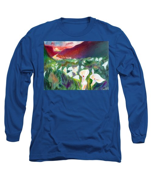 Coastal Callas Long Sleeve T-Shirt by C Sitton
