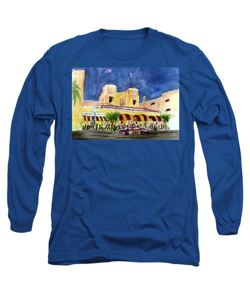 Colony Hotel In Delray Beach Long Sleeve T-Shirt
