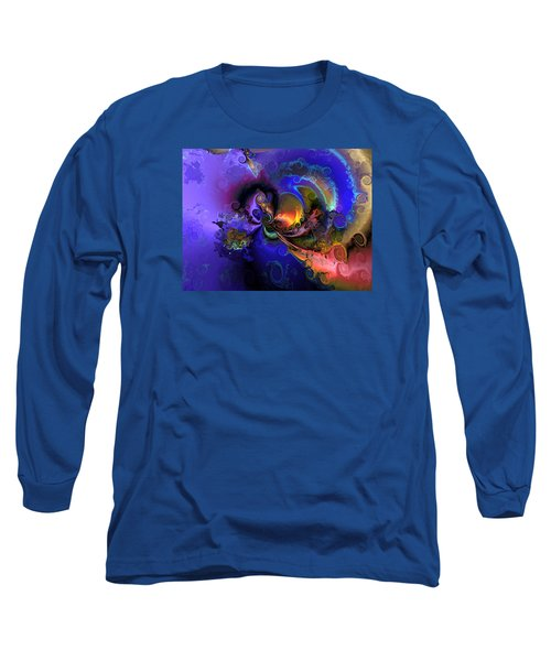 Color Gone Amok Long Sleeve T-Shirt