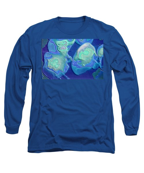 Colors Of The Sea 1 Long Sleeve T-Shirt