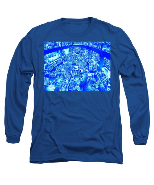 Combination  Long Sleeve T-Shirt by Nick David