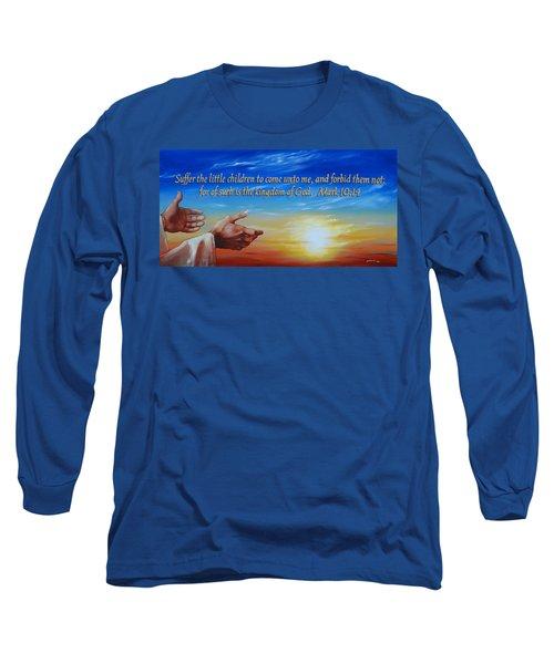 Come Unto Me Long Sleeve T-Shirt