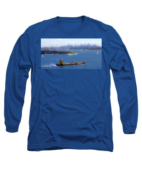 Long Sleeve T-Shirt featuring the photograph Coming In by Miroslava Jurcik