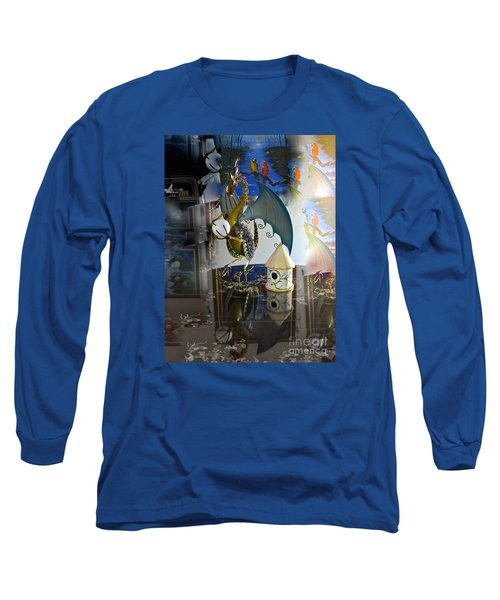 Conglomerate Or Camouflage Long Sleeve T-Shirt