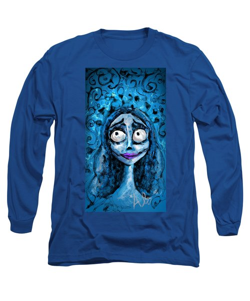 Corpse Bride Phone Sketch Long Sleeve T-Shirt