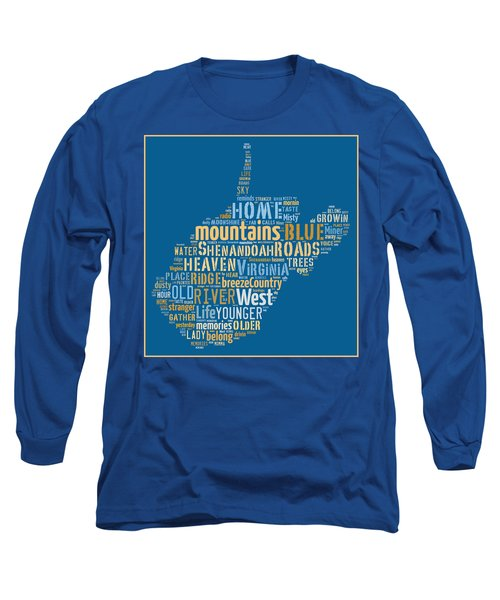 Country Roads 3 Long Sleeve T-Shirt by Paulette B Wright