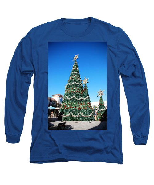 Courtyard Christmas Long Sleeve T-Shirt