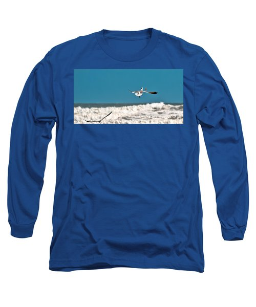 Long Sleeve T-Shirt featuring the photograph Cracker Tracker by DigiArt Diaries by Vicky B Fuller