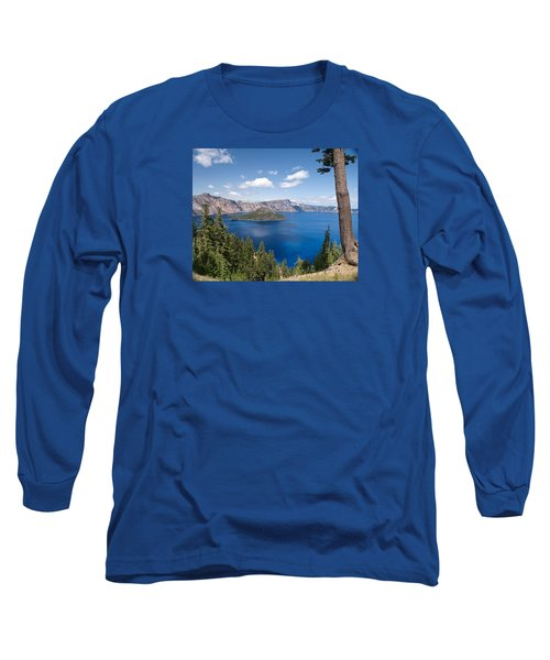 Long Sleeve T-Shirt featuring the photograph Crater Lake National Park by Diane Schuster