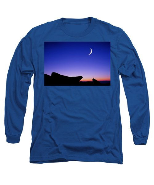 Crescent Moon Halibut Pt. Long Sleeve T-Shirt