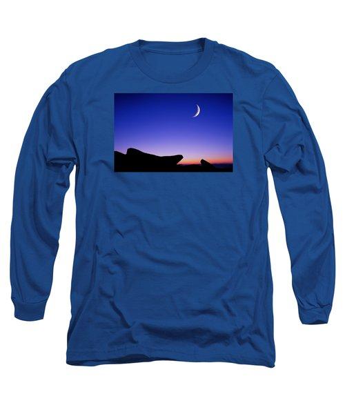 Crescent Moon Halibut Pt. Long Sleeve T-Shirt