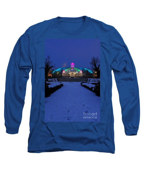 D5l287 Franklin Park Conservatory Photo Long Sleeve T-Shirt