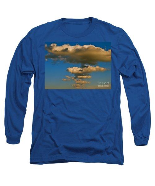 Dali-like Long Sleeve T-Shirt by Joy Hardee
