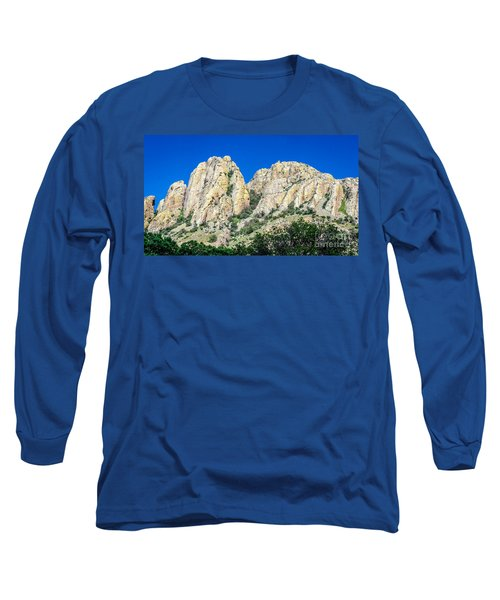 Davis Mountains Of S W Texas Long Sleeve T-Shirt