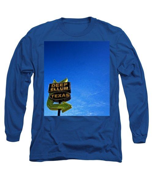 Deep Ellum Long Sleeve T-Shirt by Mark Alder