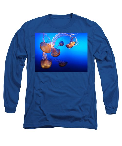 Delicate Waltz Long Sleeve T-Shirt by Caryl J Bohn
