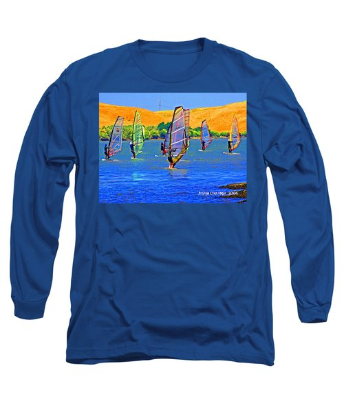 Delta Water Wings Long Sleeve T-Shirt