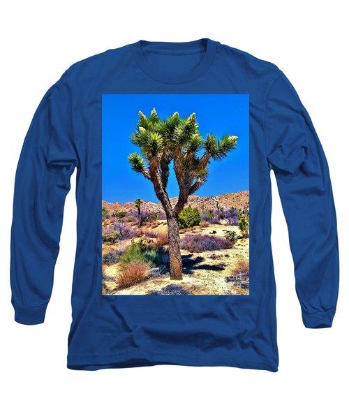 Desert Spring Long Sleeve T-Shirt by Angela J Wright