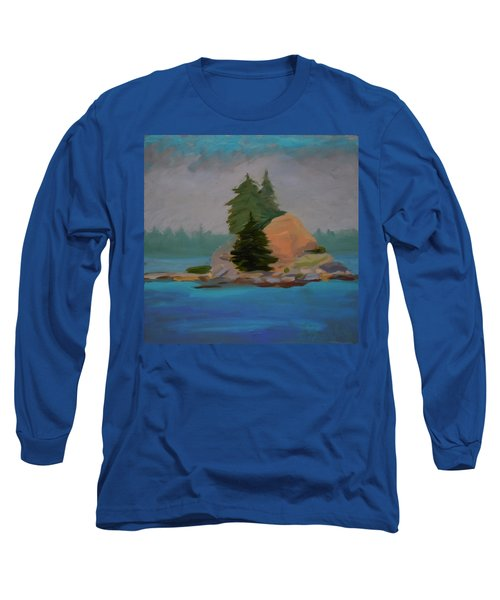 Long Sleeve T-Shirt featuring the painting Pork Of Junk by Francine Frank