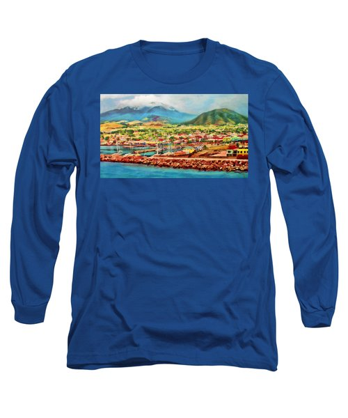 Docked In St. Kitts Long Sleeve T-Shirt