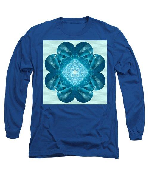 Dolphin Kaleidoscope Long Sleeve T-Shirt