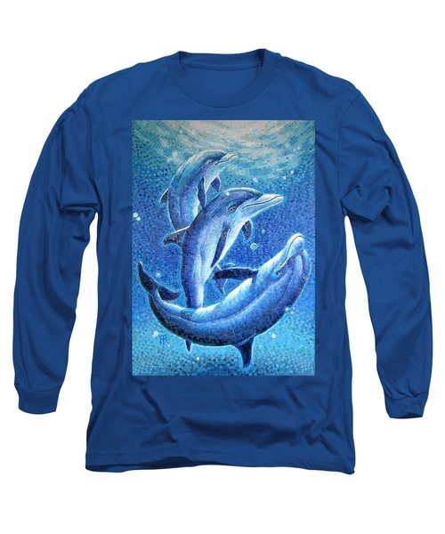 Dolphin Trio Long Sleeve T-Shirt