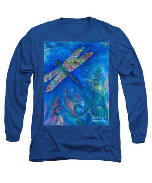 Dragonfly Flying High Long Sleeve T-Shirt