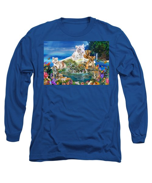 Dreaming Of Tigers  Variation  Long Sleeve T-Shirt