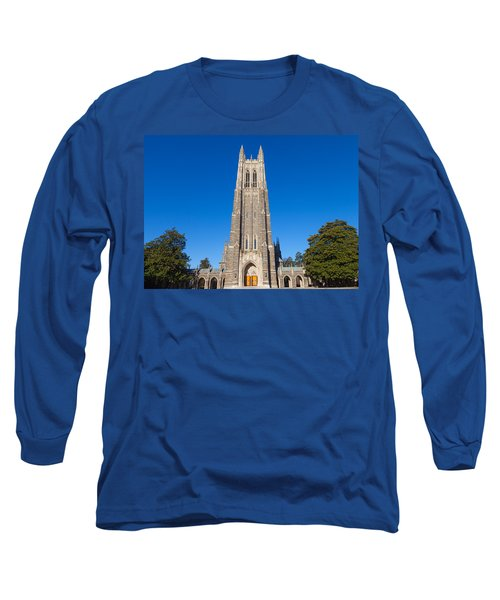 Duke Chapel Long Sleeve T-Shirt by Melinda Fawver