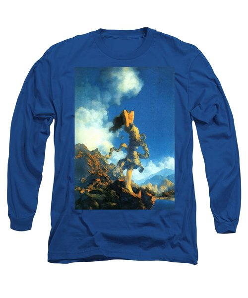 Ecstasy Long Sleeve T-Shirt by Maxfield Parrish