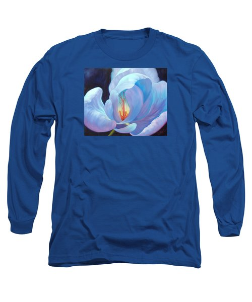 Long Sleeve T-Shirt featuring the painting Ecstasy by Sandi Whetzel