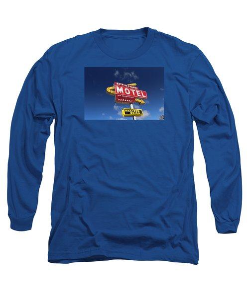 Effingham Motel Long Sleeve T-Shirt by Suzanne Lorenz