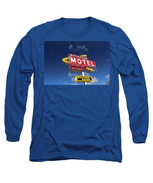 Effingham Motel Long Sleeve T-Shirt