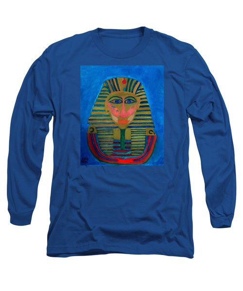 Long Sleeve T-Shirt featuring the painting Egypt Ancient  by Colette V Hera  Guggenheim