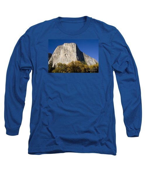 Long Sleeve T-Shirt featuring the photograph El Capitan In Yosemite National Park by David Millenheft
