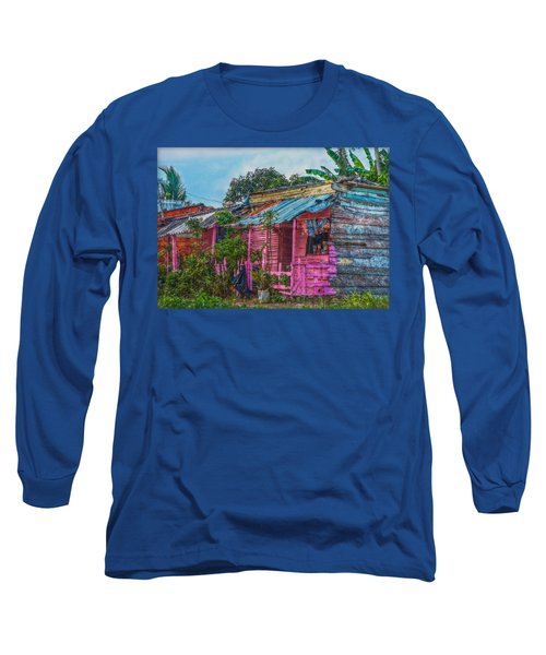 El Supermercado Long Sleeve T-Shirt by Hanny Heim